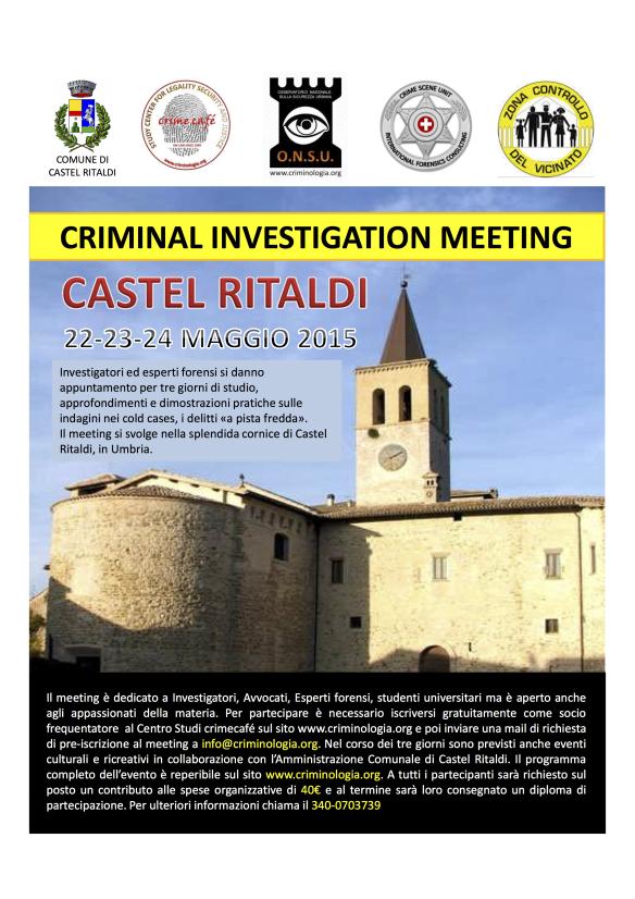 locandina castel ritaldi 2015 e programma del meeting